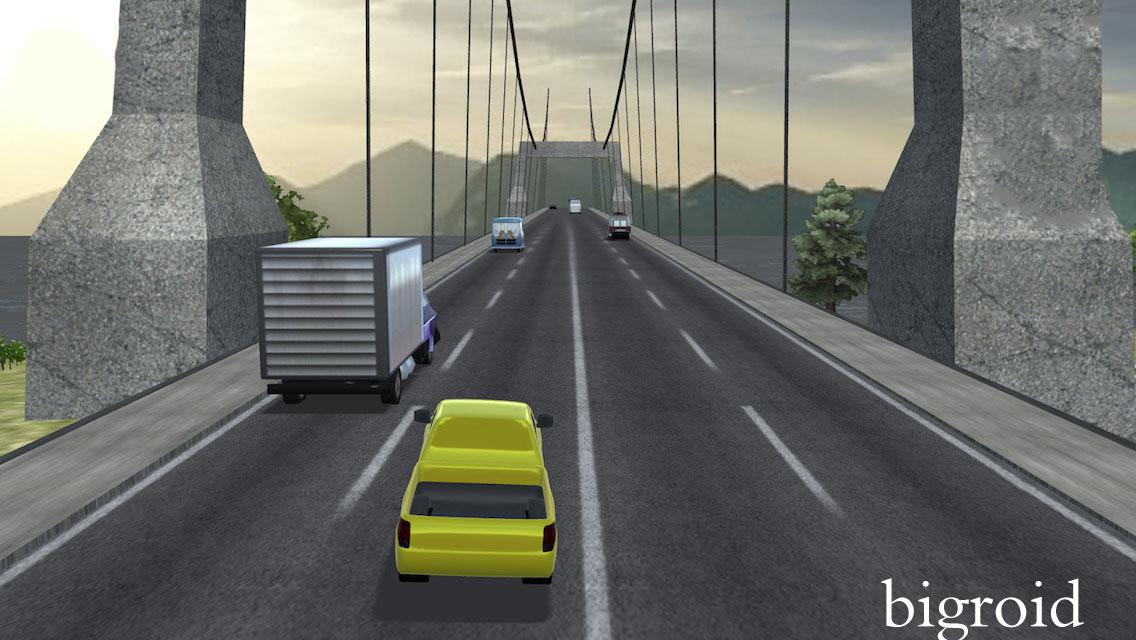 معرفی بازی مسابقه ترافیک (Traffic Racer)