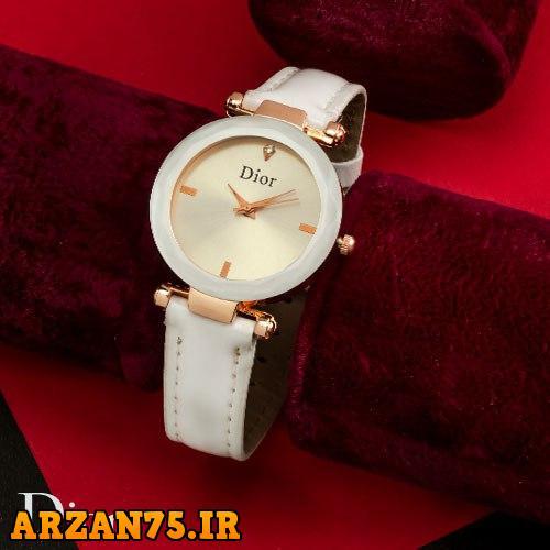 خرید ساعت مچی زنانه مدل Dior رنگ سفید