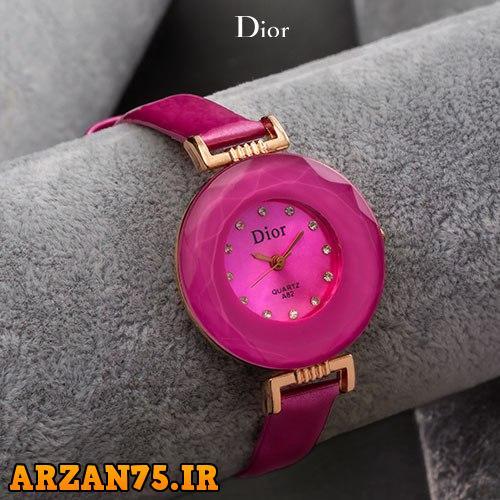 ساعت مچی زنانه مدل Dior رنگ صورتی,ساعت مچی زنانه صورتی رنگ,مدل جدید ساعت مچی دخترانه صورتی رنگ,ساعت مچی دخترانه صورتی,ساعت مچی جدید زنانه صورتی