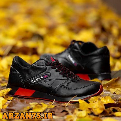 کفش مردانه مدل Reebok مشکی قرمز,مدل جدید کفش مردانه ریبوک,کفش ریبوک مشکی قرمز