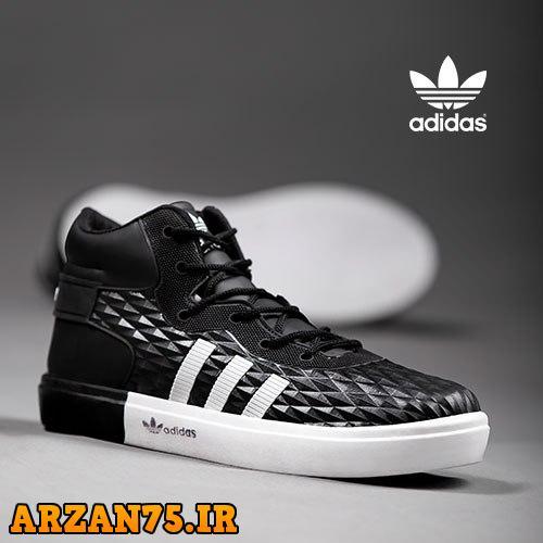 کفش ساقدار مردانه مدل Adidas مشکی,کفش جدید ساقدار مردانه,مدل جدید کفش ساقدار مردانه,سری جدید کفش ساقدار مردانه