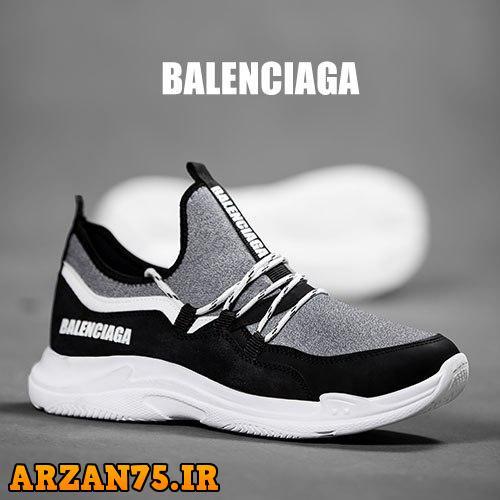کفش مردانه مدل Balenciaga خاکستری,مدل جدید کفش مردانه خاکستری,کفش جدید مردانه خاکستری