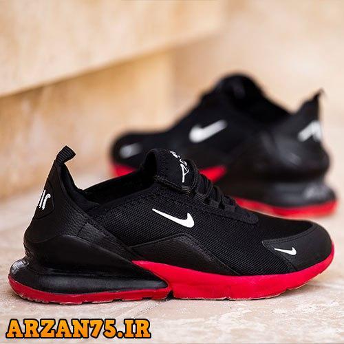 کفش مردانه مدل Nike قرمز مشکی,مدل جدید کفش مردانه,کفش جدید مردانه