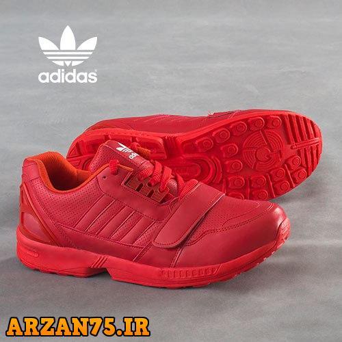 کفش مردانه مدل Adidas قرمز,مدل جدید کفش مردانه قرمز,مدل جدید کفش مردانه آدیداس