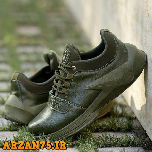 کفش مردانه مدل Nike سبز,مدل جدید کفش مردانه,کفش مردانه سبز