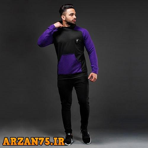 ست سوییشرت و شلوار مدل Damon آبی رنگ,ست سوییشرت و شلوار مردانه,ست جدید سویشرت و شلوار مردانه آبی رنگ,سوییشرت و شلوار جدید مردانه