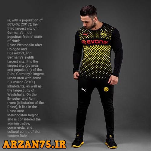 خرید ست تیشرت و شلوار ورزشی باشگاه Dortmund