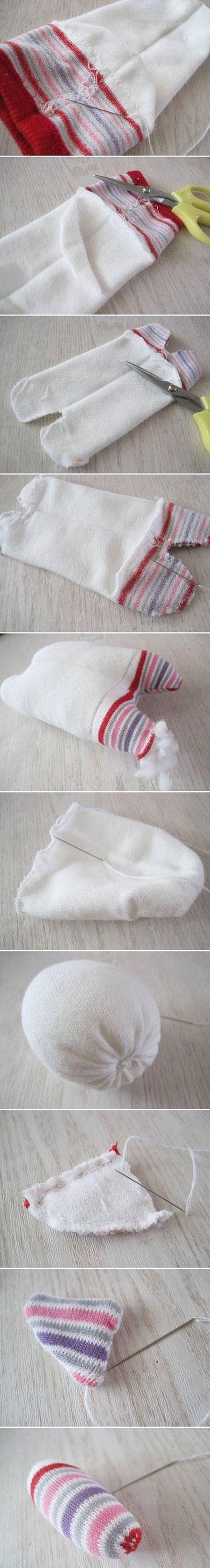 ساخت عروسک با جوراب, درست کردن عروسک سگ با جوراب