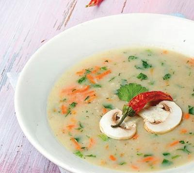 طرز تهیه سوپ سفيد
