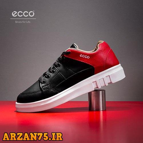خرید کفش زنانه مدل Ecco رنگ مشکی قرمز
