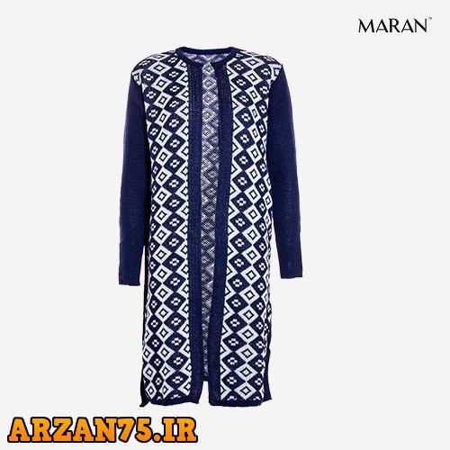مانتو بافت زنانه مدل Maran آبی,مانتو بافت جدید,مانتو بافت جدید زنانه