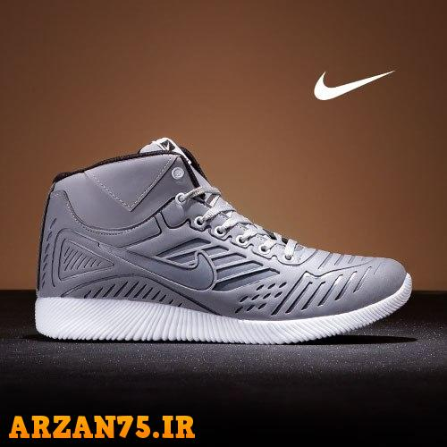کفش ساقدار مردانه Nike فیلی,مدل جدید کفش ساقدار مردانه فیلی رنگ,کفش مردانه فیلی رنگ