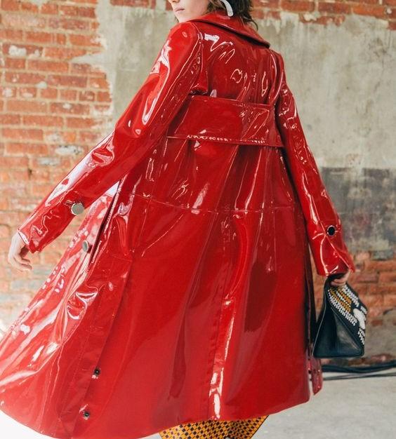 مدل مانتو بارانی زنانه