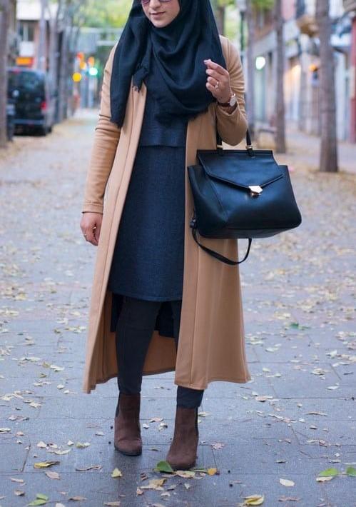 مدل مانتو پاییزه و زمستانه دخترانه