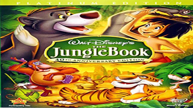 انیمیشن کتاب جنگل دوبله -  The Jungle Book 1967