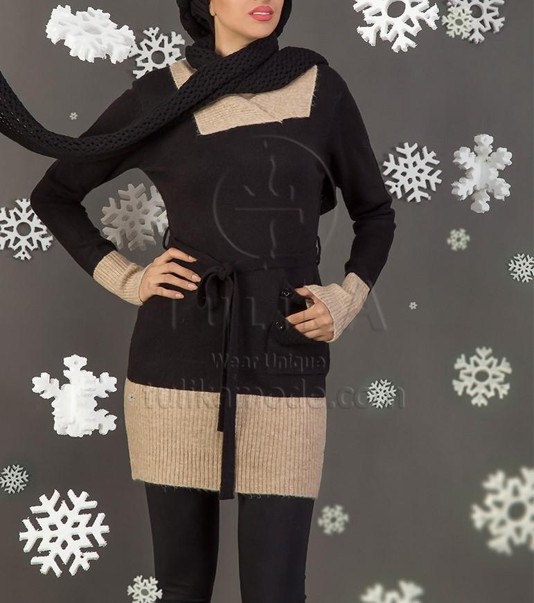 مدل تونیک بافتنی دخترانه ایرانی
