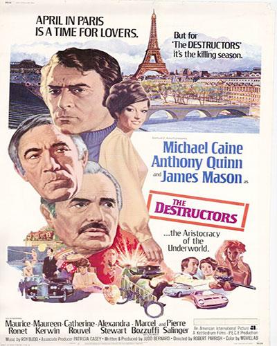دانلود فیلم قرارداد مارسی The Destructors 1974 دوبله فارسی