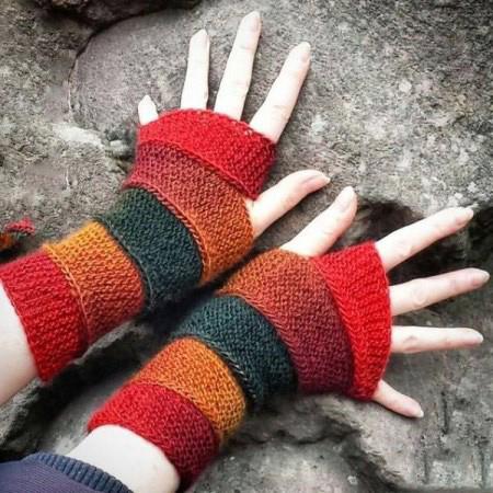 طرح های متفاوت دستکش های بافتنی,مدل دستکش بافتنی