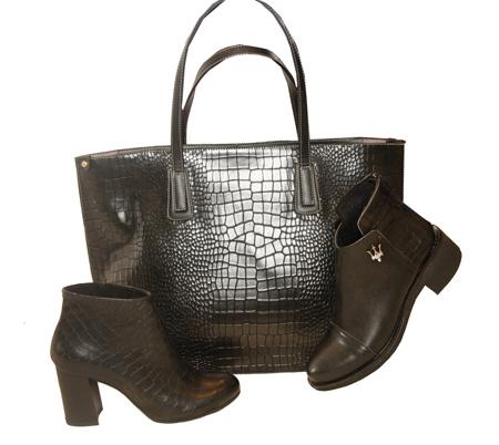 جدیدترین ست های کیف و کفش,ست بوت و کیف زنانه