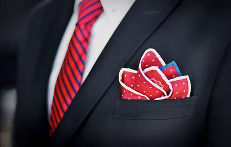 راهنمای خرید کراوات و دستمال جیب