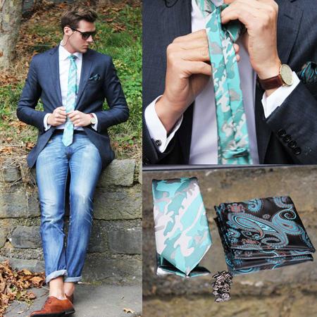 نحوه پوشیدن لباس مردانه, دستمال جیب سفید