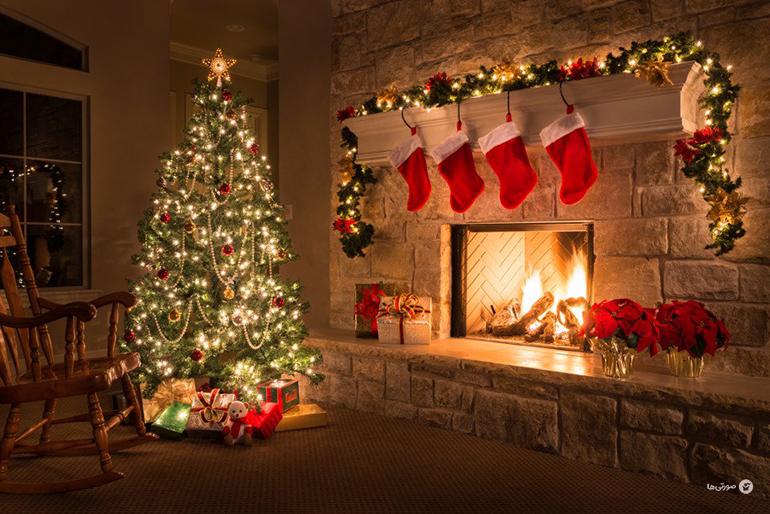 آموزش تزیین اتاق برای کریسمس