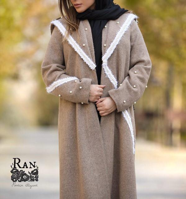 مدل مانتو زمستانی دخترانه