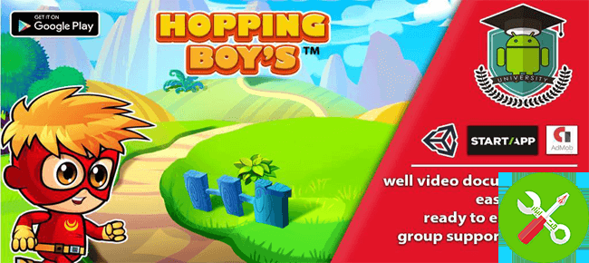 پروژه کامل یونیتی Hopping Boys