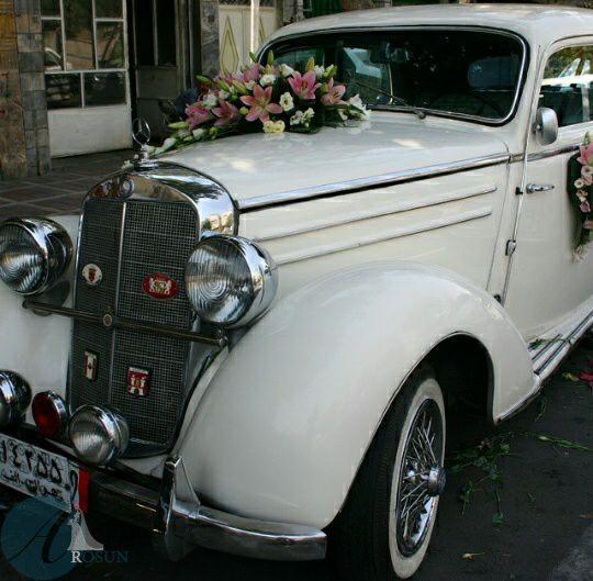 مدل تزیین ماشین عروس