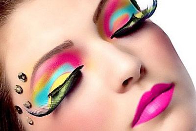 مدل آرایش زنانه دخترانه شب یلدا3