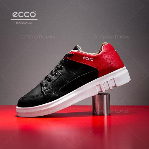 فروش کفش زنانه Ecco مدل V4010 مشکی قرمز