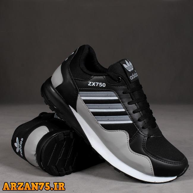 کفش اسپرت برند  آدیداس رنگ مشکی,کفش مشکی,کفش مردانه مشکی,کفش اسپرت مردانه,کفش اسپرت آدیداس