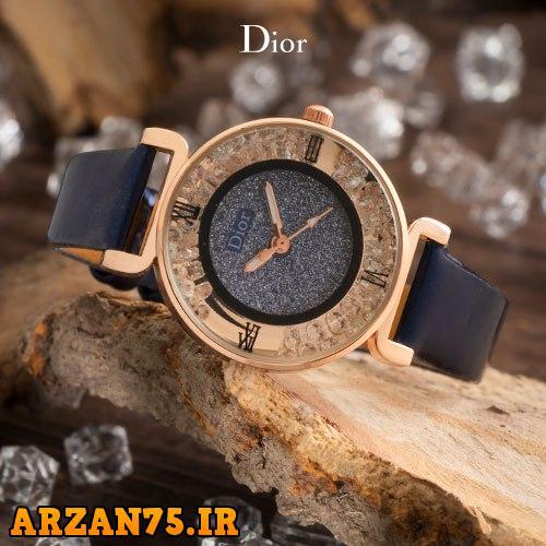 خرید ساعت مچی زنانه مدل Dior سرمه ای