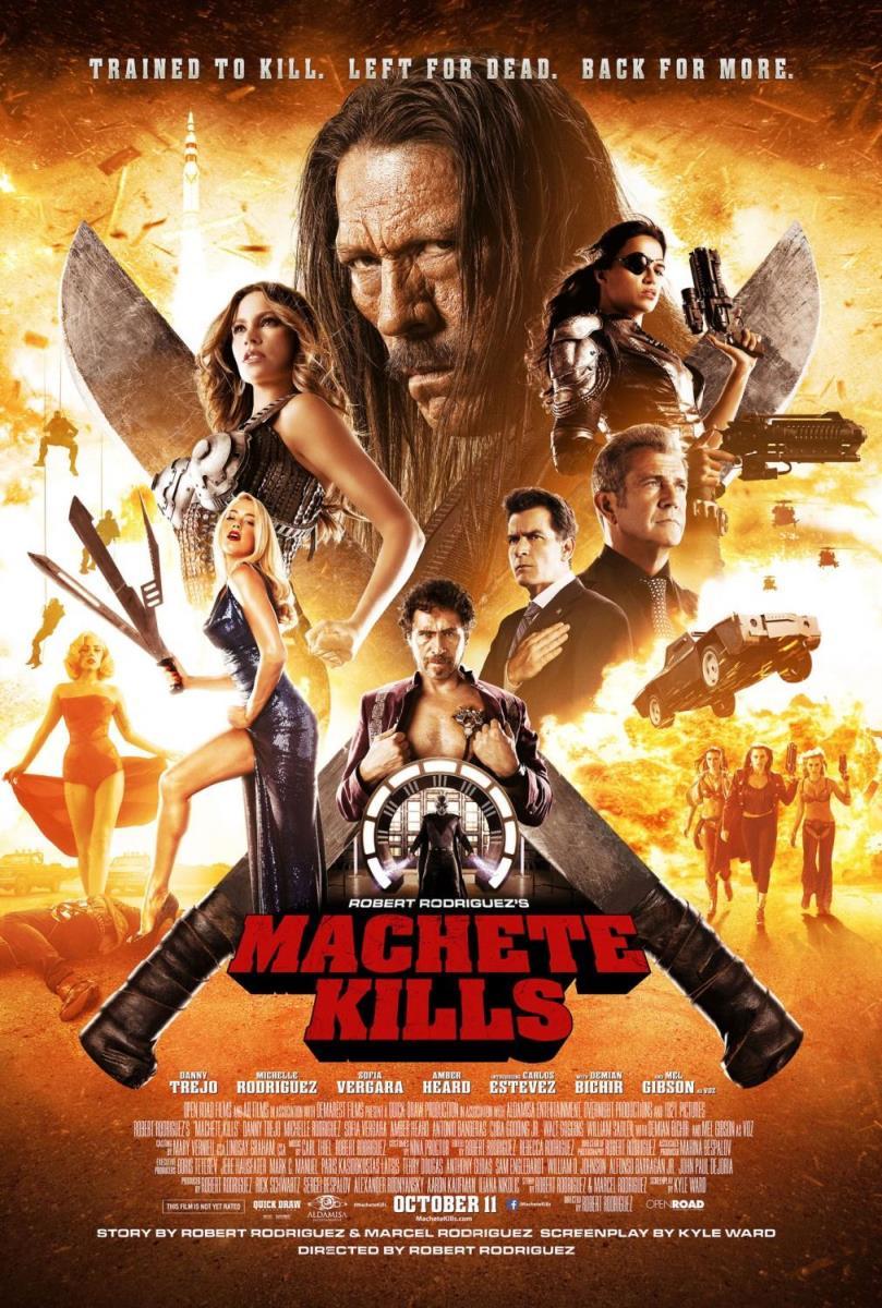 دانلود دوبله فارسی فیلم Machete Kills 2013