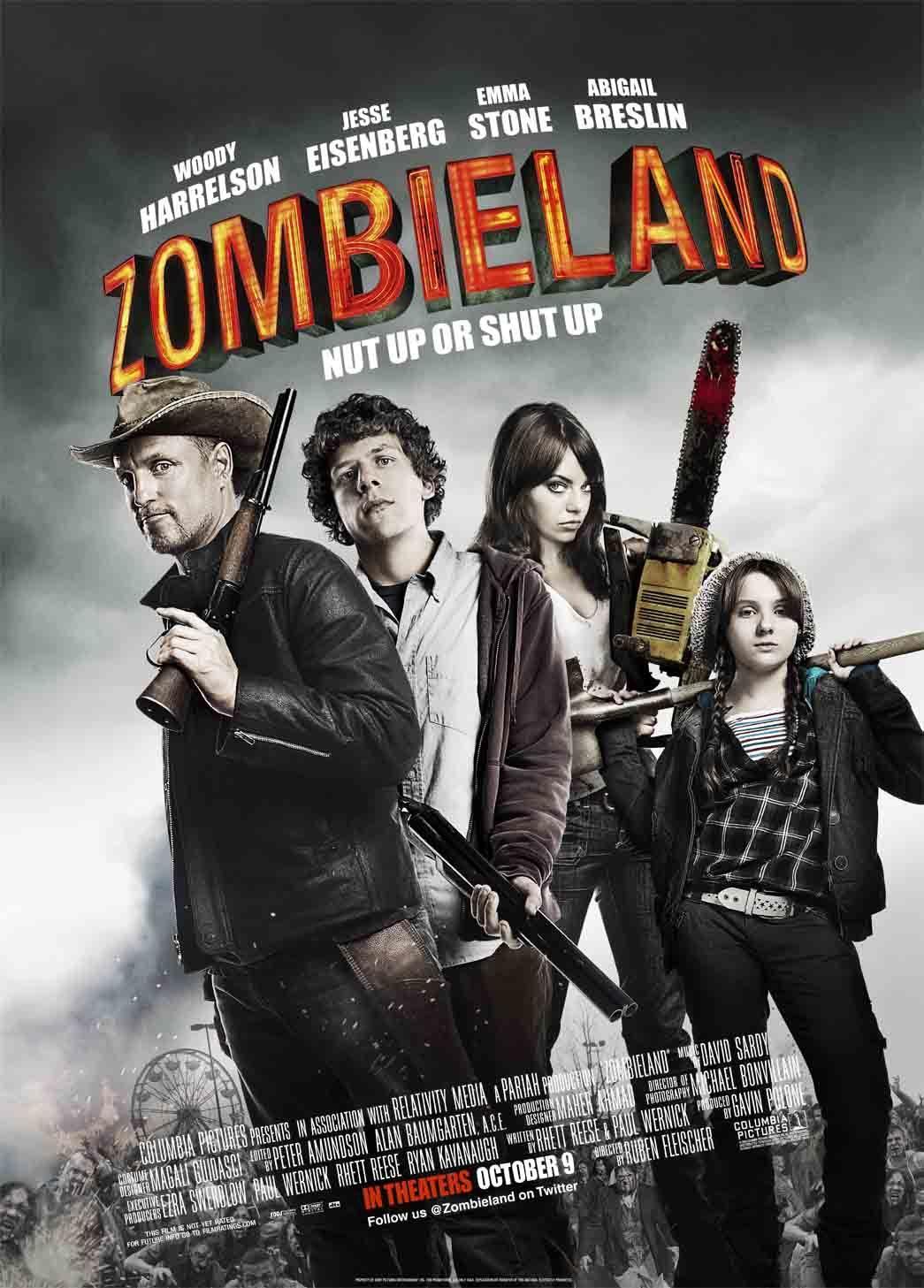 دانلود دوبله فارسی فیلم Zombieland 2009