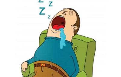 دلیل ریزش آب دهان هنگام خواب