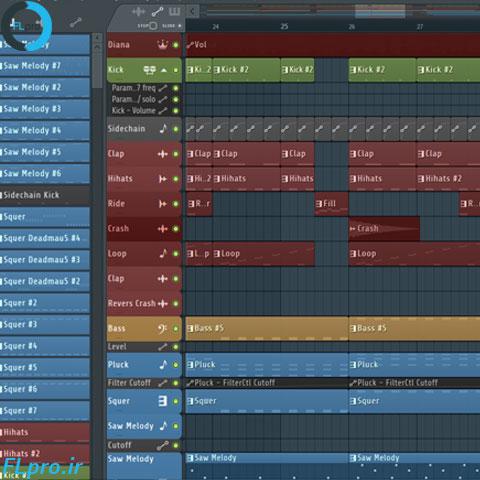 دانلود سورس اف ال استودیو بازسازی آهنگ تابستان از دیانا