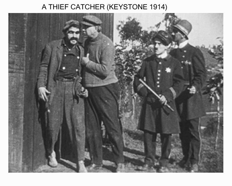 چارلی چاپلین - گرفتن دزد - 1914 - A Thief Catcher