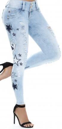 مدل تزیین شلوار لی زنانه 3