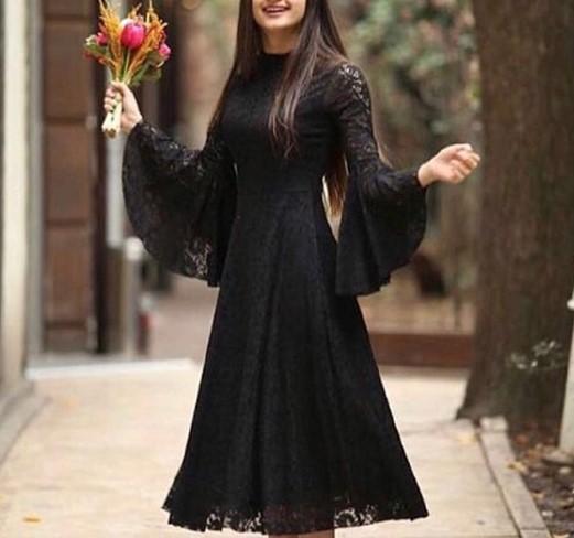 مدل لباس مجلسی پارچه گیپور