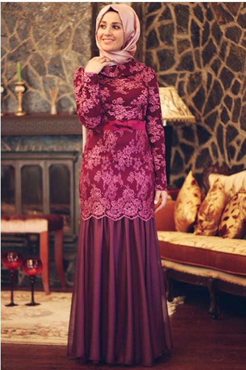 مدل لباس مجلسی استین گیپور