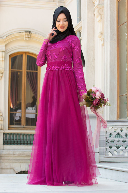 مدل لباس مجلسی گیپور زنانه