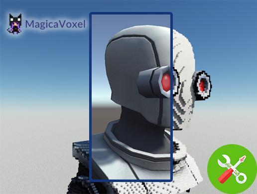پکیج یونیتی MagicaVoxel Tools v1.2