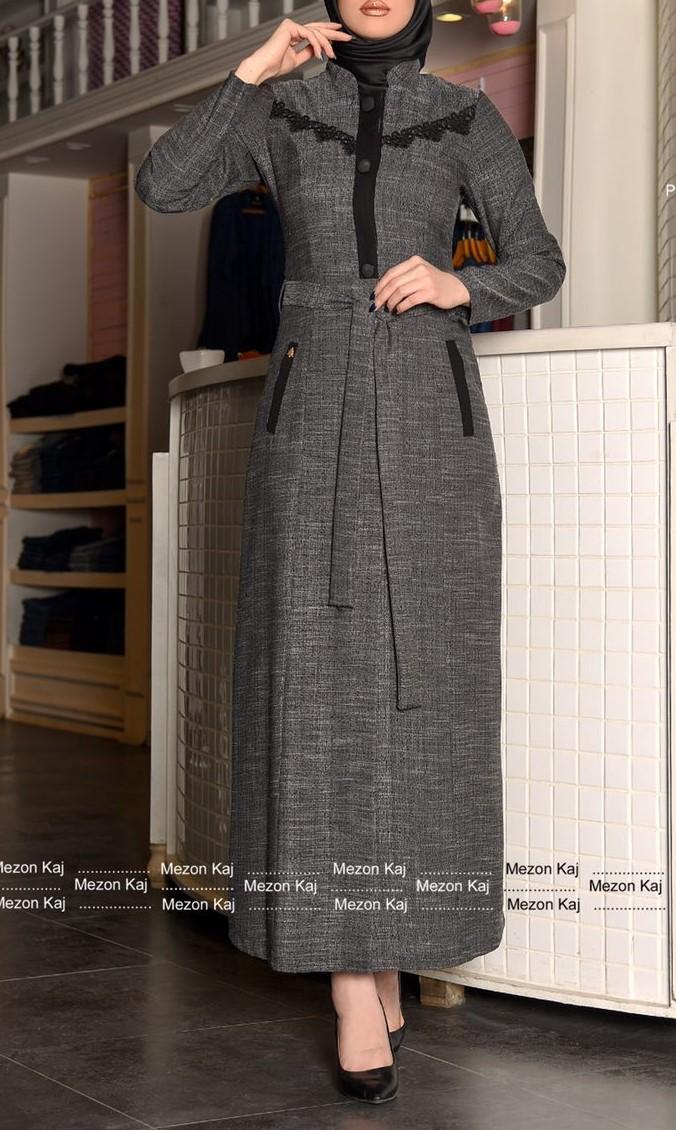 مدل مانتو بلند اندامی دخترانه