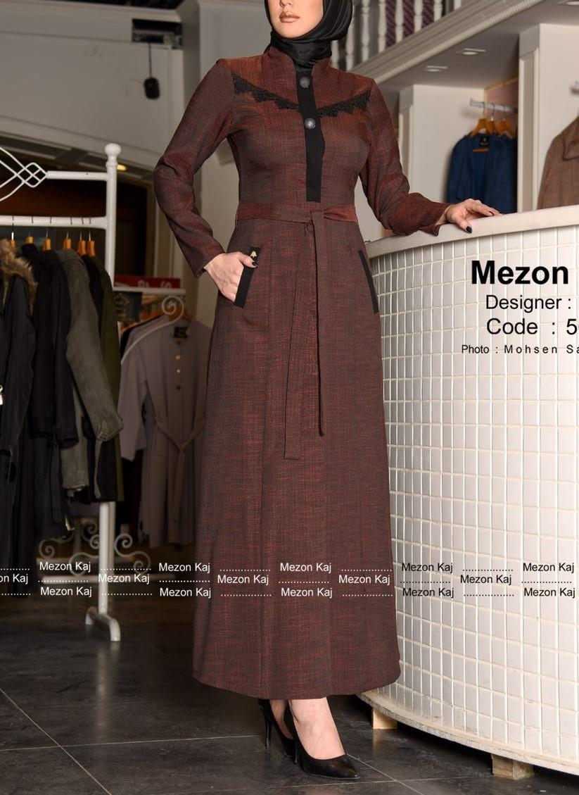 مدل مانتو بلند اندامی