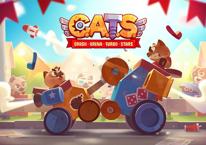 معرفی بازی CATS: Crash Arena Turbo Stars
