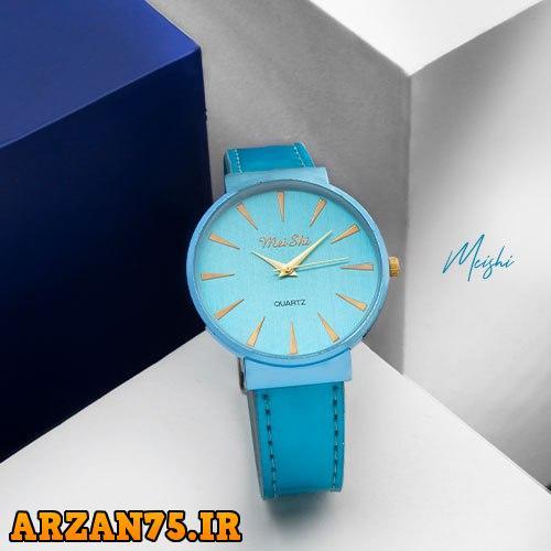 خرید ساعت مچی زنانه Meishi رنگ آبی