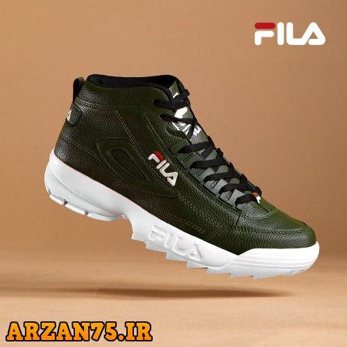خرید کفش ساقدار مردانه Fila رنگ سبز