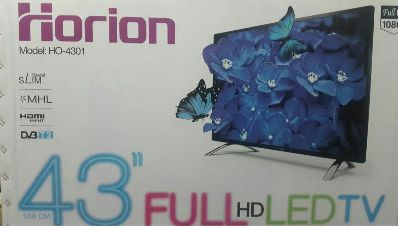 تلویزیون ال ای دی 43 اینچ هوریون فول اچ دی با گیرنده داخلی و یو اس بی