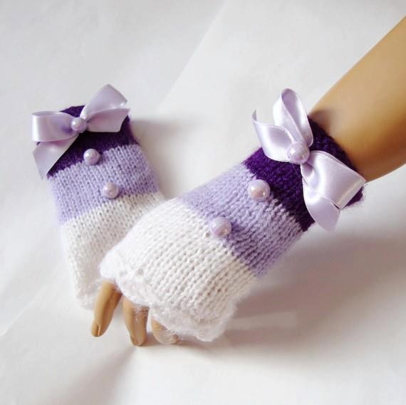 مدل دستکش بافتنی کره ای
